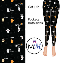 Cat Life Custom Full Length