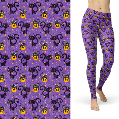 Trick or Treat Cats Leggings