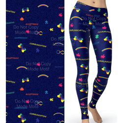 WS RTS - Autism Awareness Leggings
