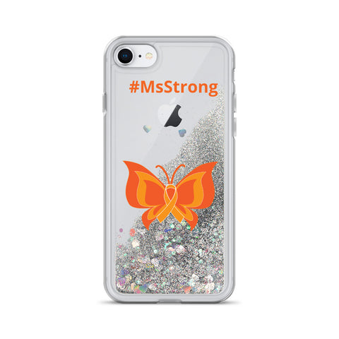 MS Strong Liquid Glitter Phone Case