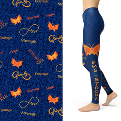 WS MS Strong Awareness Leggings