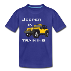 Jeeper in Training Toddler Premium T-Shirt - royal blue