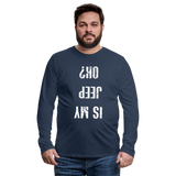 Is my Jeep ok?  Long sleeve Shirt - navy