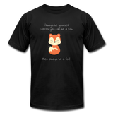 Always Be a Fox - black