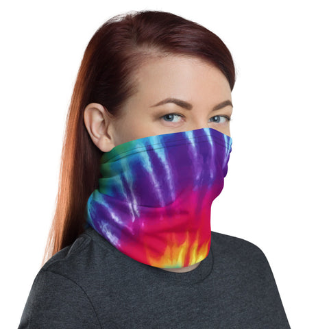 WS - Face Cover Gaiter -  Tie Dye - Multiuse Reuseable with Filter Inserts