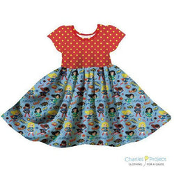 Super Powers Twirl Dress