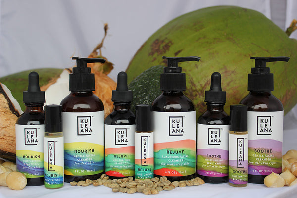 macadamia nut oil skin care products