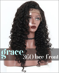 360 Lace Wig:Deep Curl
