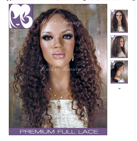 FULL LACE WIG: Cecilia Curly Indian Remy