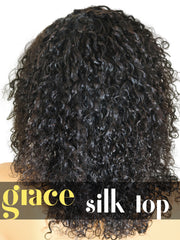 SILK TOP LACE WIG: Deep Curly