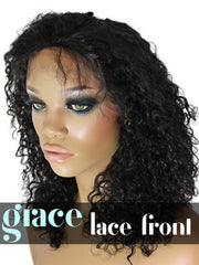 LACE FRONT WIG: Deep Curly
