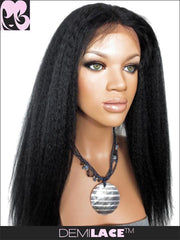 LACE FRONT WIG: Ruths Yaki Indian Remy