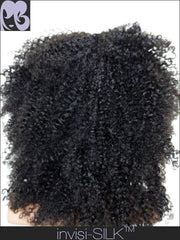 SILK TOP LACE WIG: Kiki Afro Kinky Curly