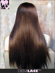 LACE FRONT WIG: Ryan Silky Straight Indian Remy