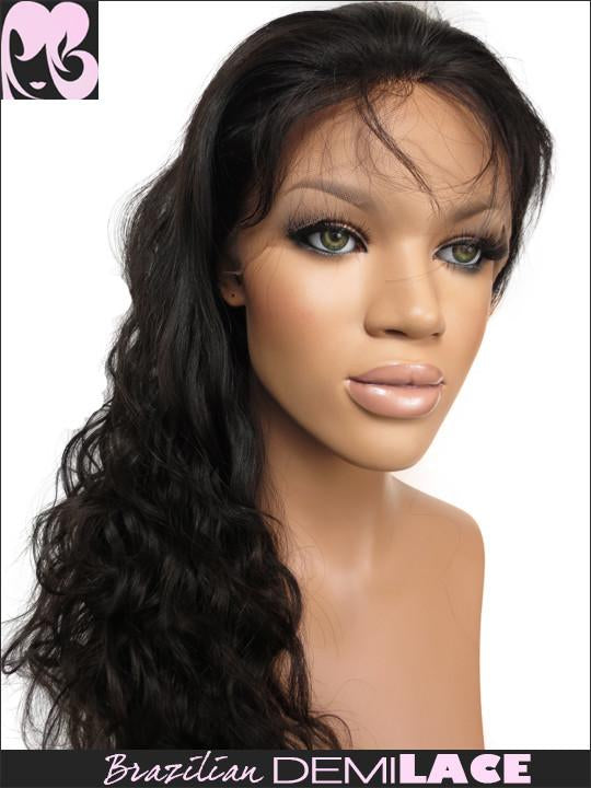 LACE FRONT WIG: Xia Brazilian Wave