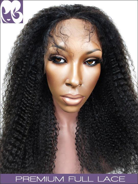 FULL LACE WIG: Kyra Indian Remy Afro Kinky Curly
