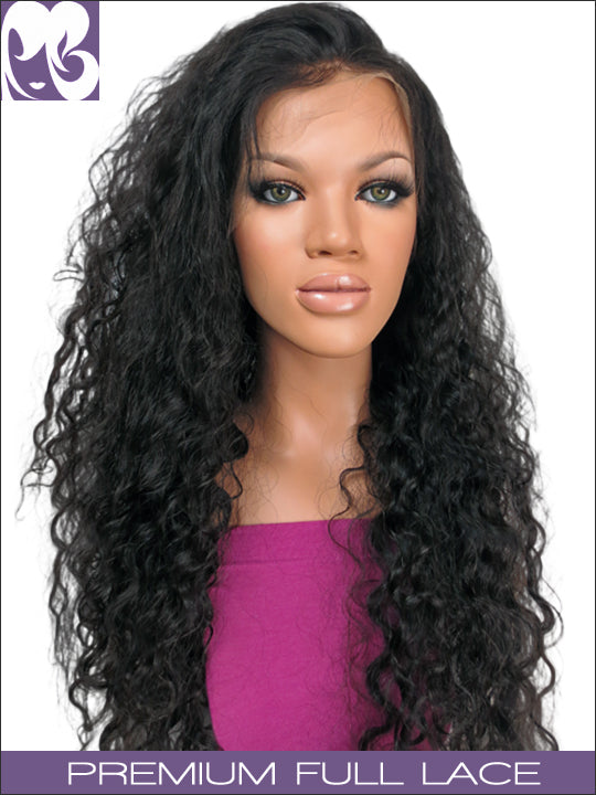FULL LACE WIG: Jasmine- Virgin Malaysian Wavy