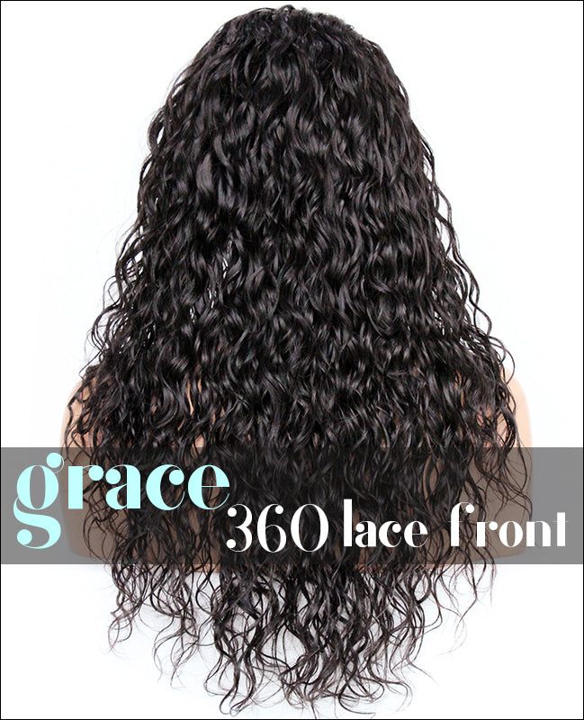 360 Lace Wig: Loose Curl