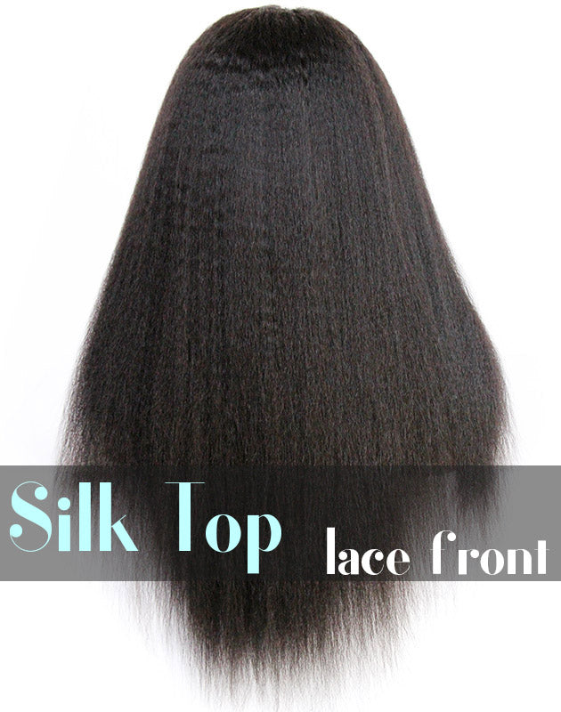 Glueless Silk Top Lace Front Wig: Ruths Yaki