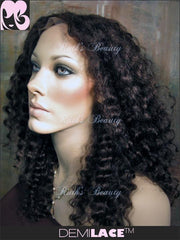 LACE FRONT WIG: Alana Spanish Wave Indian Remy