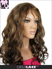 LACE FRONT WIG: Nicolette Big Wave Indian Remy