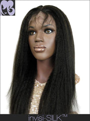SILK TOP LACE WIG: Pearl Kinky Straight