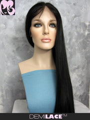 LACE FRONT WIG: Sylvia Silky Straight Indian Remy