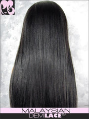 LACE FRONT WIG: Serena Straight Malaysian