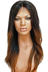 LACE FRONT WIG: Alissa Brown Ombre