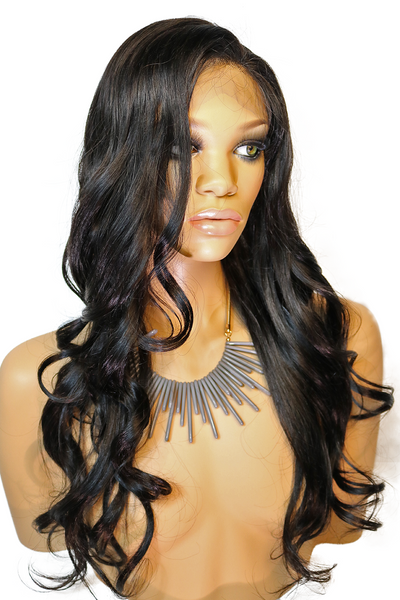 FULL LACE WIG: Pretty Girl Yaki