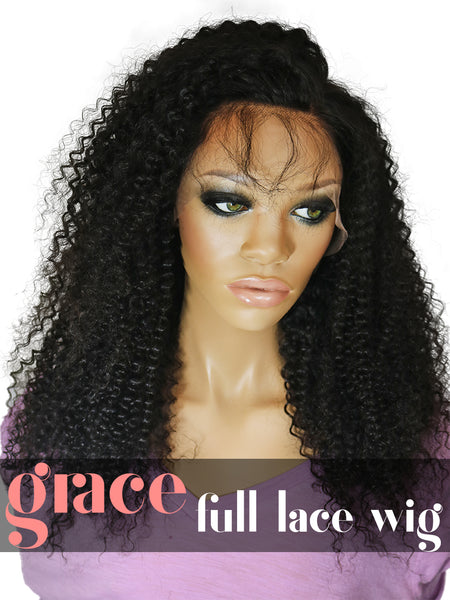 FULL LACE WIG: Kinky Curl