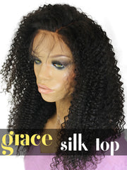SILK TOP LACE WIG: Kinky Curl