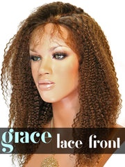LACE FRONT WIG: Kinky Curl