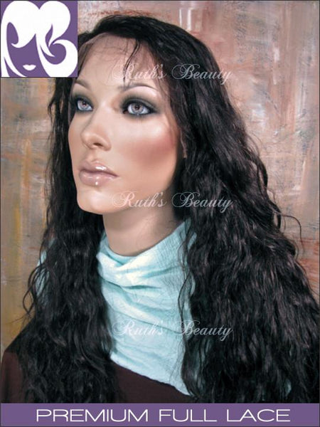 FULL LACE WIG: Athena- Brazilian Virgin Wavy