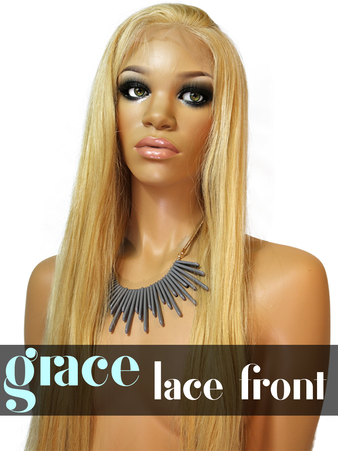 LACE FRONT WIG: Shayla Straight