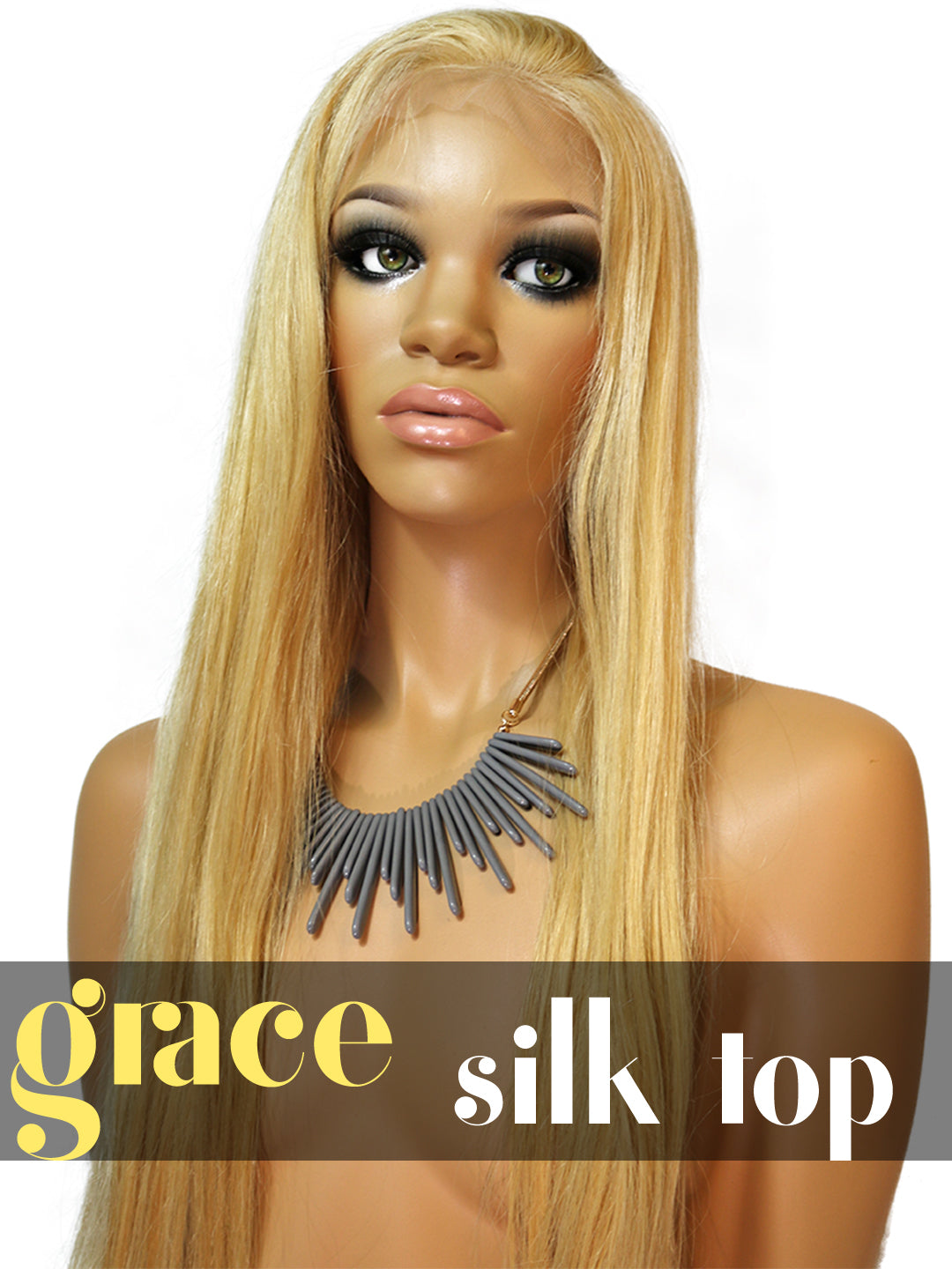 SILK TOP LACE WIG: Shayla Straight