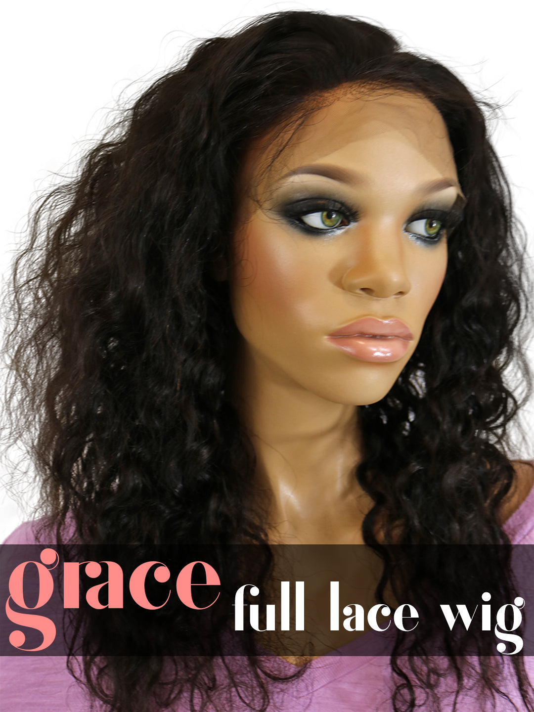 FULL LACE WIG: Brazilian Curl