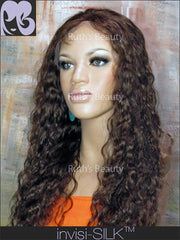 SILK TOP LACE WIG: Caramel Loose Curls