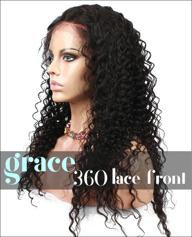 360 Lace Wig:Deep Wave