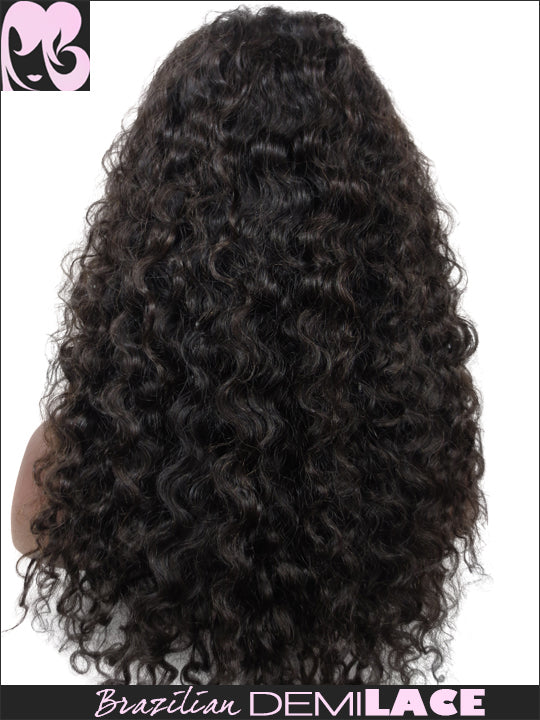 LACE FRONT WIG: Ivy Brazilian Curly