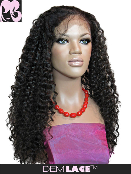 LACE FRONT WIG: Jill Deep Wave Indian Remy