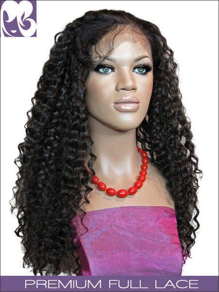 FULL LACE WIG: Jill Indian Remy Deep Wave