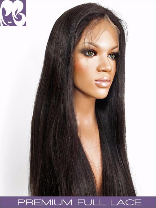FULL LACE WIG: Joanna- Virgin Chinese