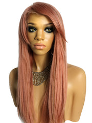 FULL LACE WIG: Pink