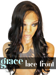 Silk Top  LACE FRONT WIG: Pretty Girl Yaki