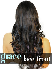 LACE FRONT WIG: Pretty Girl Yaki
