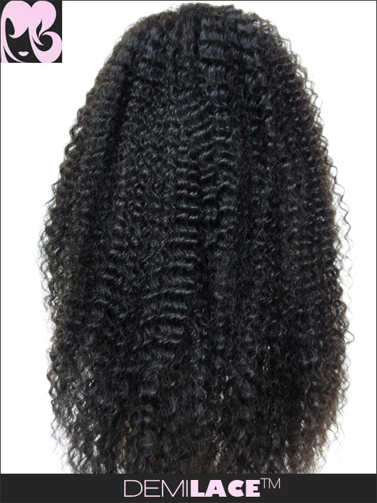 LACE FRONT WIG: Rachael Kinky Curly Indian Remy