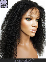 SILK TOP LACE WIG: Rachael Kinky Curly