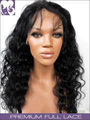 SILK TOP LACE WIG: Ruths Ripple Brazilian Virgin