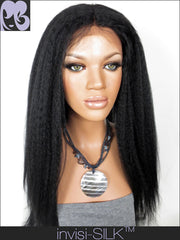 SILK TOP LACE WIG: Ruth's Yaki
